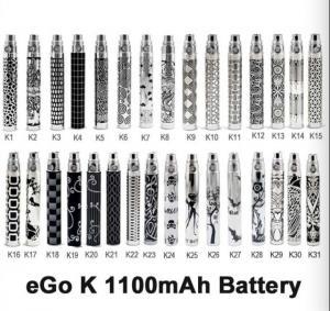 Quality eGo-K Battery K1-K31 650mAh 900mAh 1100mAh best price 2014 for sale