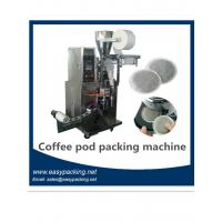 Quality full automatic coffee pod filling and sealing machine casuple coffee pod machine /coffee maker for sale