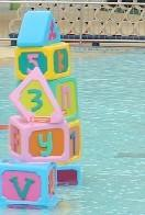 China Kids Water Pool Toys Water Building Block For Water Amusement Park on sale