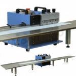 調節可能な速度導かれた管のためのV切られたPCBの分離器機械、Alumnium PCB Depaneing機械