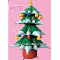 Quality christmas ornament giant inflatable christmas santa claus,inflatable christmas tree indoor for sale