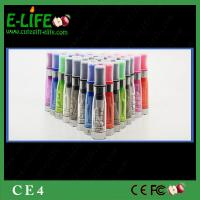 Quality Cheap Sale high quality CE4 Clearomizer for ego/evod/ego twist battery from E-Life Smoking for sale