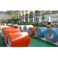 Quality Color Coated Galvanized Steel Coil / PPGI Roofing Sheet For Building Material for sale