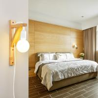 Quality Japanese style dining room bedroom Bed Bedside plug in wall light (WH-OR-05) for sale
