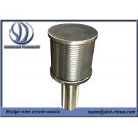 Quality Long Life BSP End Fitting Wedge Wire Screen Filter Nozzle No Risk for sale