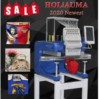Buy cheap HOLiAUMA brand 15 needles single head computer embroidery machine for cap t-shirt flat 3d hat with 1200 spm high from wholesalers