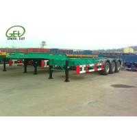 Quality 40ft Length Skeleton Semi Trailer HCL / LPG Tanker Container Transporter for sale