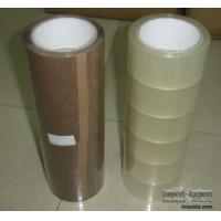 Quality Super clear Bopp packing tape with solvent based acrylic for sale