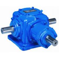 China Double Output Shaft Spiral Bevel Gear Reducer Angle Transmission Gearbox Efficiency on sale