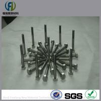 high quality tantalum screw 99.95% purity,RO5200,Ta1 tantalum screw,nuts,bolt M2,M3,M8,M10,M5,M6,M12,M10,M4,M24