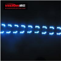 High Quality Wholesale Price Car Accessories 12V Three Color Drl Led Daytime