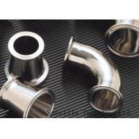 """Quality Clamped Sanitary Valves And Fittings , Stainless Steel Valves And Fittings 1""""x1.65mm for sale"""