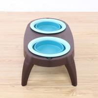 Quality Portable Best Christmas Double Pet Dog Cat Food Bowls Manufacturer for sale