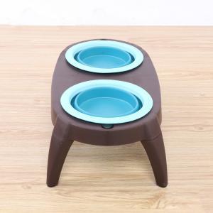 Quality Portable Best Christmas Double Pet Dog Cat Food Bowls Manufacturer for sale