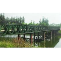 Easy Assembly Steel Suspension Bridge Compact Panel Bridge With Steel Deck