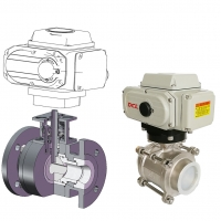 Quality Quarter Turn 4 Inch DN100 Electrically Operated Ball Valve for sale