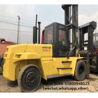 Quality Hyster H16.00XM-6 Used Diesel Forklift Truck For Port Lifting Containers for sale