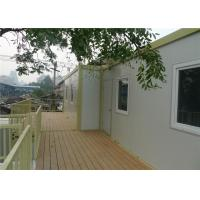 Quality Temporary Office Prefab Container House With 15mm Plywood Floor for sale