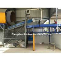 China Municipal Solid Waste MSW Construction & Demolition C&D Recycling Refuse derived fuel RDF Trommel Screen System Price on sale
