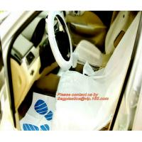 Quality Nylon seat cover Reusable seat cover car seats Steering wheel cover foil Disposable car carpet cover Disposable seat cov for sale