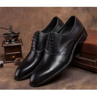 Quality Pointed Plain Toe Mens Classic Dress Shoes For Four Seasons EU 37-44 Size Range for sale