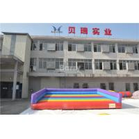 China Indoor Or Outdoor Kids Play Inflatable Jumping Pad For Sport Game Gladiator Fighting on sale