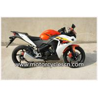 Quality Red White Air-cooled Honda CBR150 Two Wheel Drag Racing Motorcycles For Men for sale