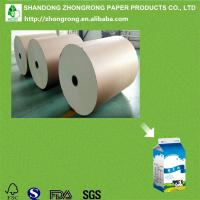 Quality PE coated board for gable top milk carton for sale