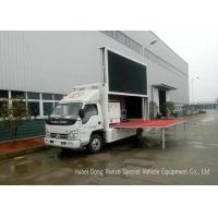 Quality Mobile Digital Advertising Vehicle with Stage For Outdoor Broadcast / Events / Shows for sale