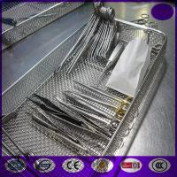 Quality China Medical Instrument Cleaning sterilization Wire Baskets PRICE for sale