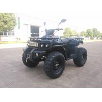 Quality 3KW 72V Motor Electric Utility ATV 4x4 Wheels With Shaft Drive , Black for sale