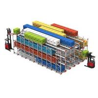 Quality Pallet Runner Automated Warehouse Racking System Radio Drive In Shuttle Rack System for sale