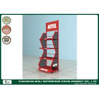 Quality Hot sale customized display metal display stand metal oil lubricant display stand for sale