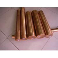 Quality Industrial Round Shaped Copper Products , Big Diameter Red Copper Bar for sale