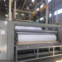 Quality Compact Construction Spunbond Nonwoven Machine , Non Woven Shopping Bag Making Machine for sale