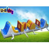 Quality Blue Backyard Ultimate inflatable Banana Boat With 12 Months Warranty for sale