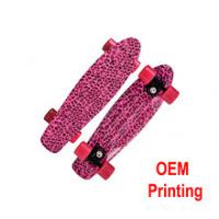 Quality High quality truck can be OEM LOGO printing skateboard for sale