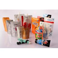 Standup Heat Seal Cosmetics Pouch, Flexible Cosmetic Packaging Laminated Bag