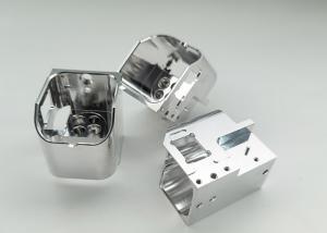 Quality Sandblasting IGS Anodized Cnc Aluminum Prototype Metal 0.002mm Tolerance for sale