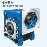Quality NMRV center distance 90 flange input ratio 15:1 single reduction worm gear reducer for sale