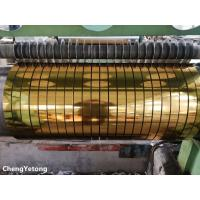 Quality Metallic Gloss Stainless Steel Slit Coil , Corrosion Resistance Stainless Steel Coil Stock for sale