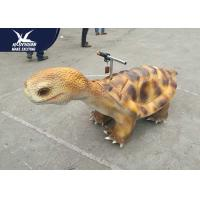 Eyes Lighting Motorized Animal Scooters Artificial Silicone Rubber Skin
