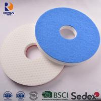 China Floor clean pad of melamine sponge floor pad with scrubber Suitable for machines under 200 RPM on sale