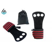 Quality Custom Gym Weightlifting Wrist Wrap With Palm Protection Removeable Hand Grip for sale