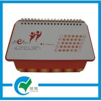 Quality Double - Wire Binding Promotion Custom Calendars Printing,  7 Sheets and Full Color Offset for sale