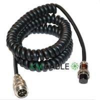 Quality Shielded Coiled Spiral Cable Assembly Waterproof Male Female Customized Logo for sale