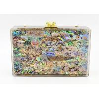 Buy cheap New Style Acrylic Colorful Shells High-End Ladies Evening Clutch Bag Party from wholesalers