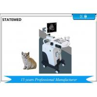 Quality High Elements Trolley Full Digital Veterinary Ultrasound Disagnostic System for sale
