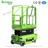Quality 5.9m Height 240kg Load Mini Electrical Self Propelled Scissor Lift with CE Certificate for Warehouse for sale