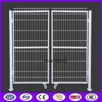 Buy cheap Double piece of door opening Peach Shape tube fence gate from China as fence from wholesalers
